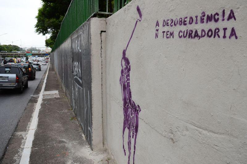São Paulo - Mural do grafiteiro Eduardo Kobra na Avenida 23 de Maio