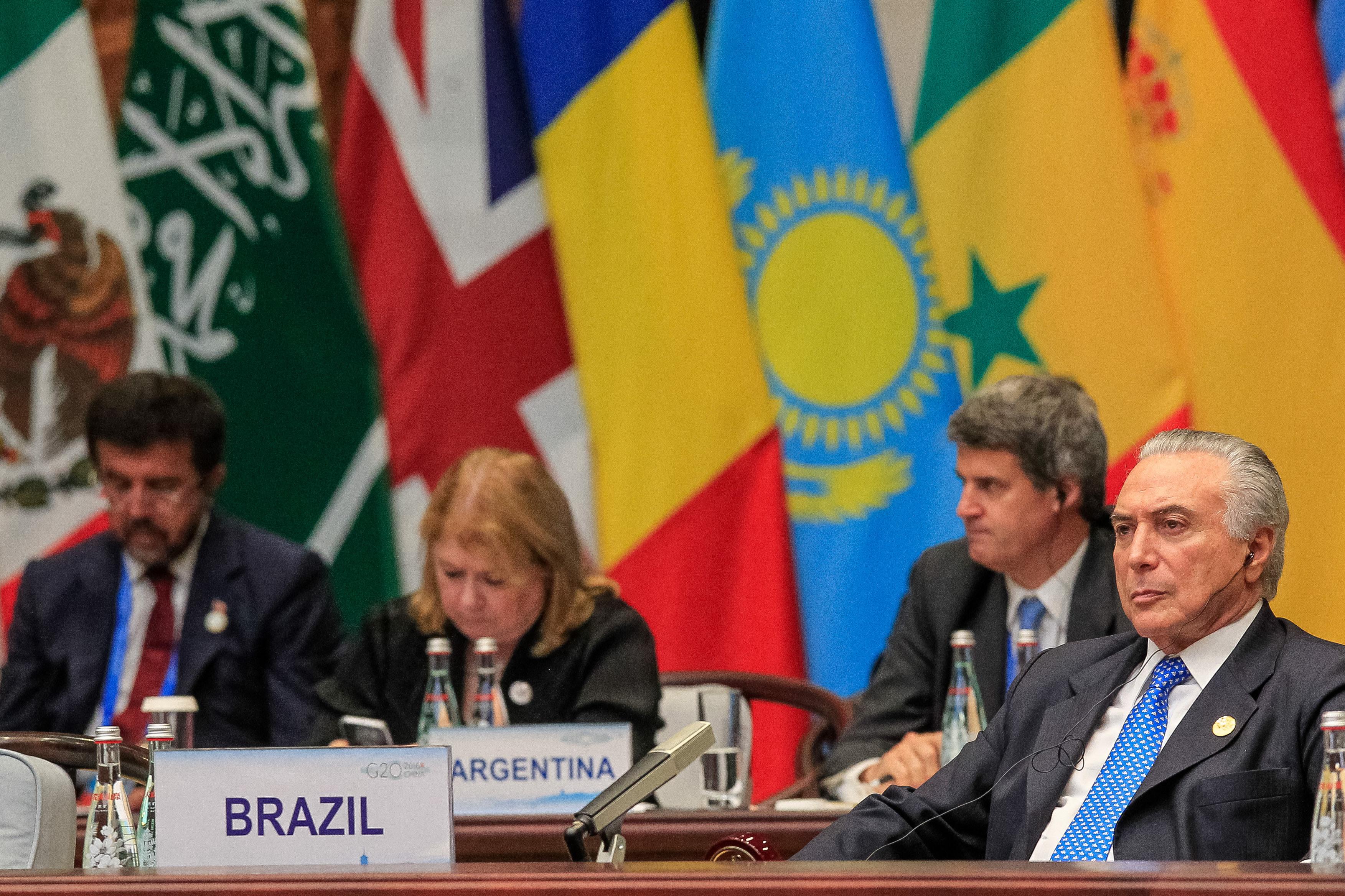 Hangzhou/China - Presidente Michel Temer durante reunião da Cúpula do G20. ( Beto Barata/PR)