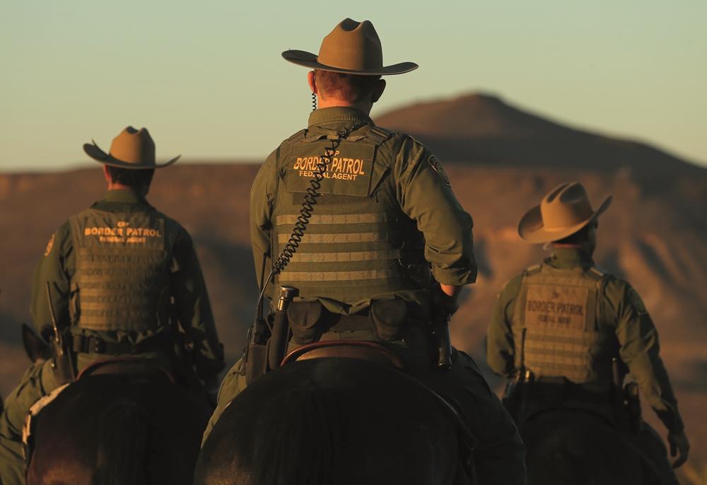 Muitos corpos não são recuperados: a prioridade da Border Patrol é pegar os vivos