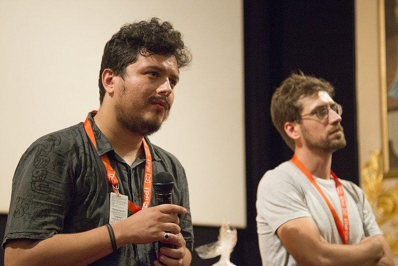Os diretores Affonso Uchoa e João Dumans. Fotografia: Reprodução/Le Monde Diplomatique Brasil