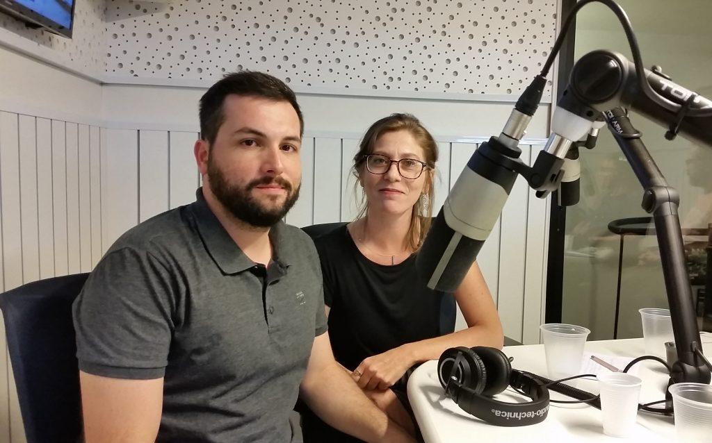 Ana Paula Corti e Fernando Cássio