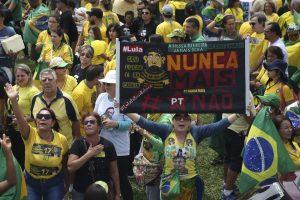 Manifestação contra Lula (Agência Brasil)