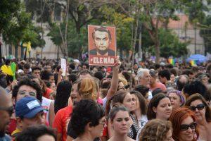 Manifestação contra Bolsonaro (Agência Brasil)