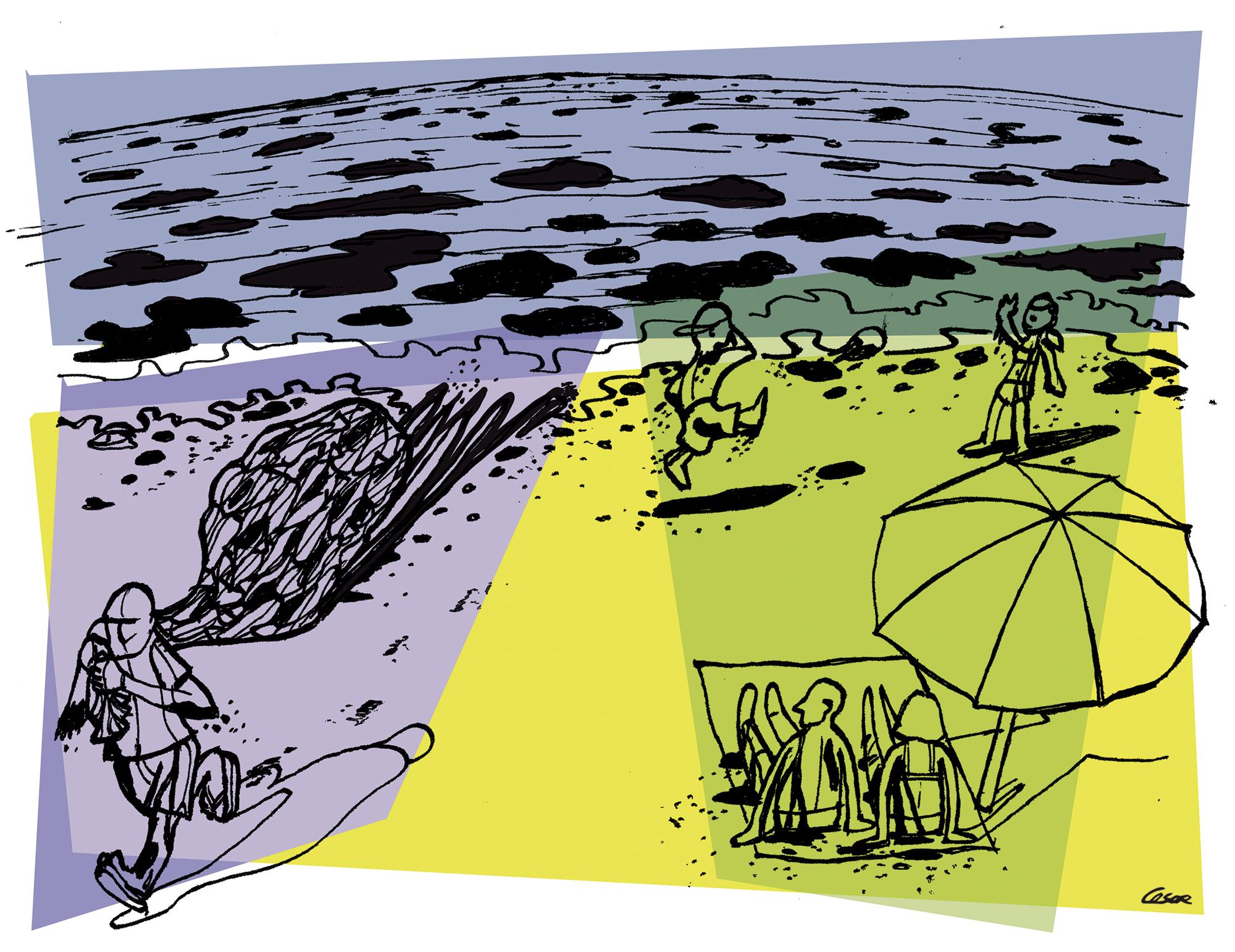 Um desastre no mar brasileiro