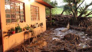 Região de Brumadinho após o rompimento da barragem da Vale (Foto: Camila Nóbrega)