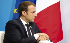 Emmanuel Macron (Divulgação Presidência Russa)