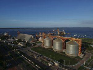 Porto da Cargil em Santarém (PA)