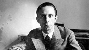 Joseph Goebbels, o ministro e braço direito de Hitler (Divulgação)