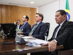 Jair Bolsonaro e a crise do coronavírus (Isac Nóbrega/Agência Brasil)