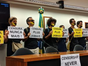 Entidades denunciam censura (Intervozes)