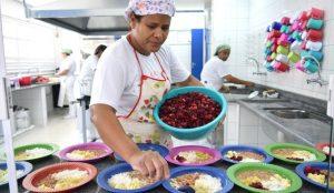 A merenda escola é, muitas vezes, a principal refeição dos estudantes. (Divulação Prefeitura SME)