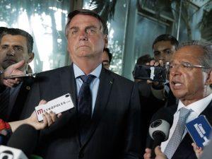 O governo tem minimizado os efeitos da pandemia, em favor do mercado. (Valter Campanato/Agência Brasil)