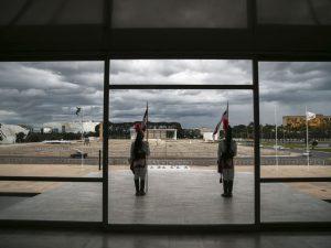 Vista de dentro do Palácio do Planalto (Marcello Casal Jr/Agência Brasil)
