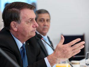 O presidente da República, Jair Bolsonaro, participa da34ª Reunião do Conselho de Governo (Marcos Corrêa/PR)