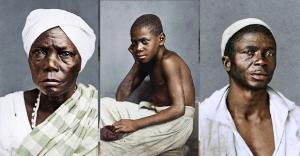 (Fotos históricas colorizadas por Marina Amaral, em projeto chamado 'In Color || Slavery In Brazil, 1869')