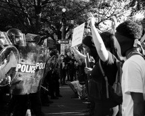 Whasington contra o racismo que matou Jorge Floyd (Koshu Kunii/Unsplash)