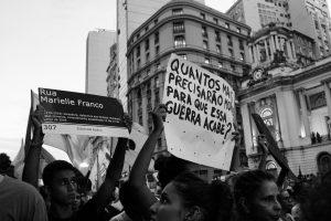 Manifestações no Rio de Janeiro contra violência policial (Nayani Teixeira/Unsplash)