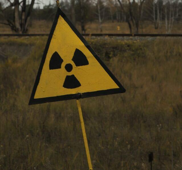 Símbolo da radiação nuclear