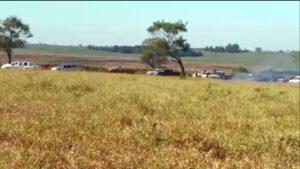 Imagem do massacre de Caarapó