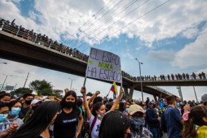 Manifestações na Colômbia