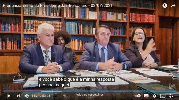 Bolsonaro, que fezes aqui?